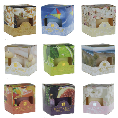 Heart & Home Votive Candle Gift Set Of NINE